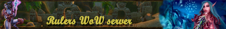 Rulers WoW server Banner