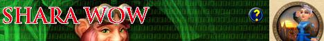 Shara WoW Server Banner