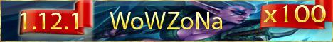 WoWZoNa.com WoTLK Server 3.3.5 x100 Instant 80lvl Banner