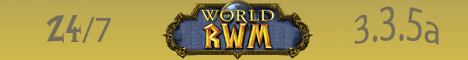 Reality World of Warcraft Banner