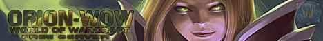 Orion-WoW Banner