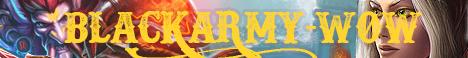 BLACKARMY-WOW 3.3.5 INSTANT 90 FUN Banner