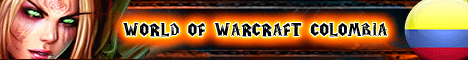 World Of Warcraft Colombia Fortress WOW Banner