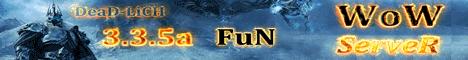 DeaD-LicH 3.3.5a FuN! Banner